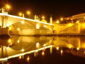Rome at night.
