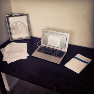 The writer's life: revisions, reminders, and inspirations.