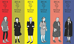Bookmarks created by Joanna Walsh, who created #ReadWomen2014 and inspired me to change my reading habits.