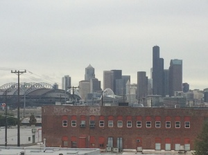 South Seattle, gray and industrial.